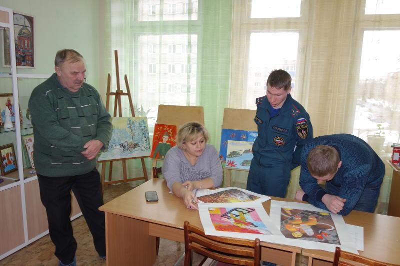 В Сарапуле прошло награждение участников районного этапа конкурса детско-юношеского творчества по пожарной безопасности «Неопалимая Купина»