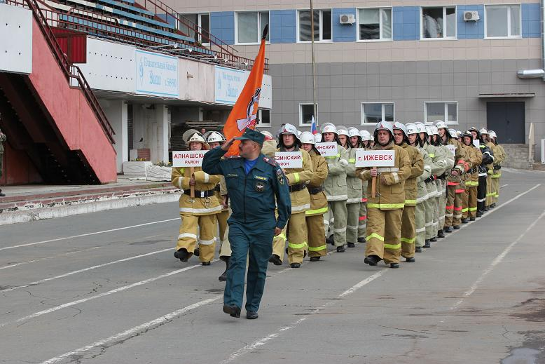 Смотр-конкурс «Лучшее добровольное подразделение пожарной охраны Удмуртской Республики - 2016»