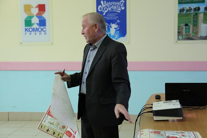 ИНСТРУКТАЖ  на объектах «Сарапул-молоко»